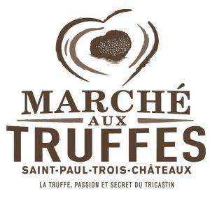 Marché aux truffes de détail à Saint-Paul-Trois-Châteaux