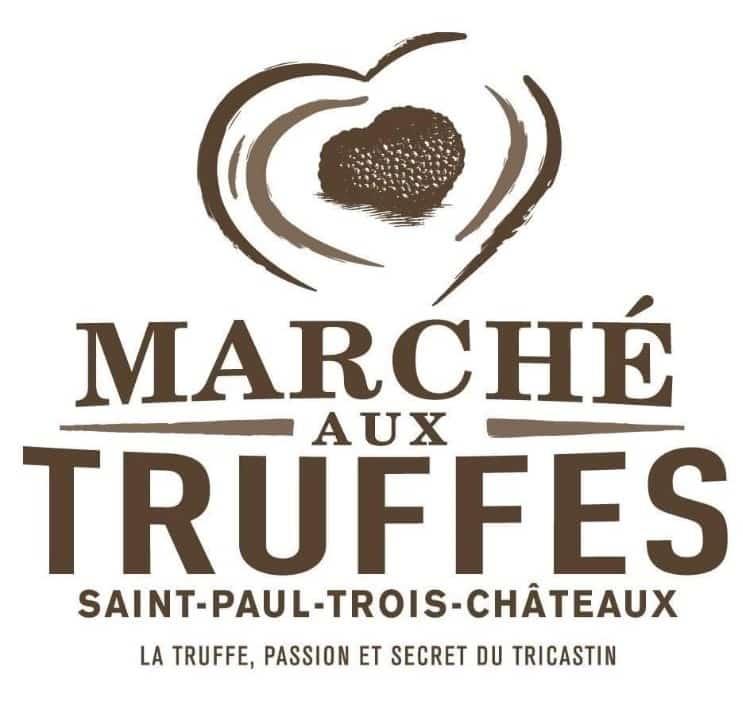 Marché aux truffes de détail en Drôme Provençale